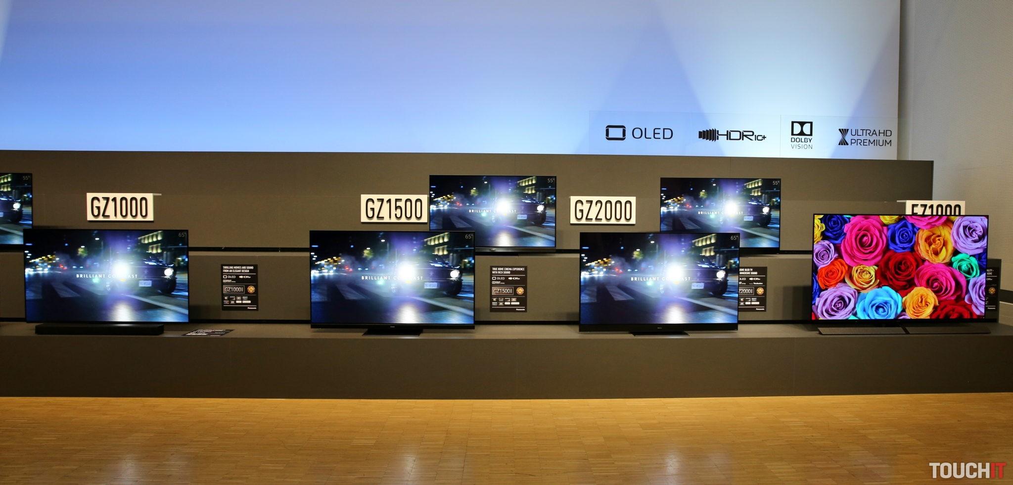 0b425ead4 Panasonic ukázal na Convention svoje rodinné striebro. Nové televízory  prídu aj na Slovensko. V čom je ich výhoda?