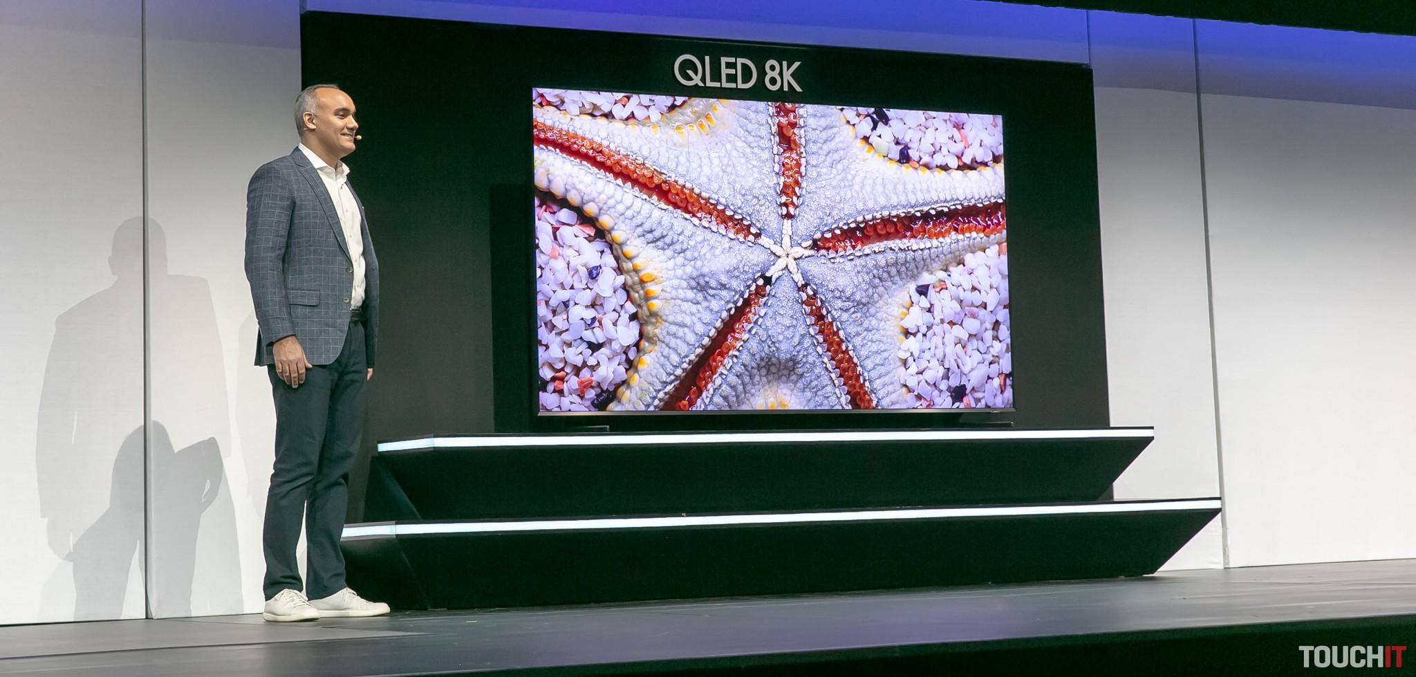 Samsung predstavil televízory QLED 8K pre rok 2019  V čom sú lepšie
