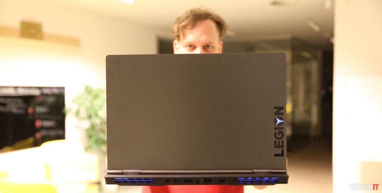 4171ba165 Herný notebook Lenovo Legion Y740: Výkonnejší ako váš domáci stolný počítač  (VIDEORECENZIA)