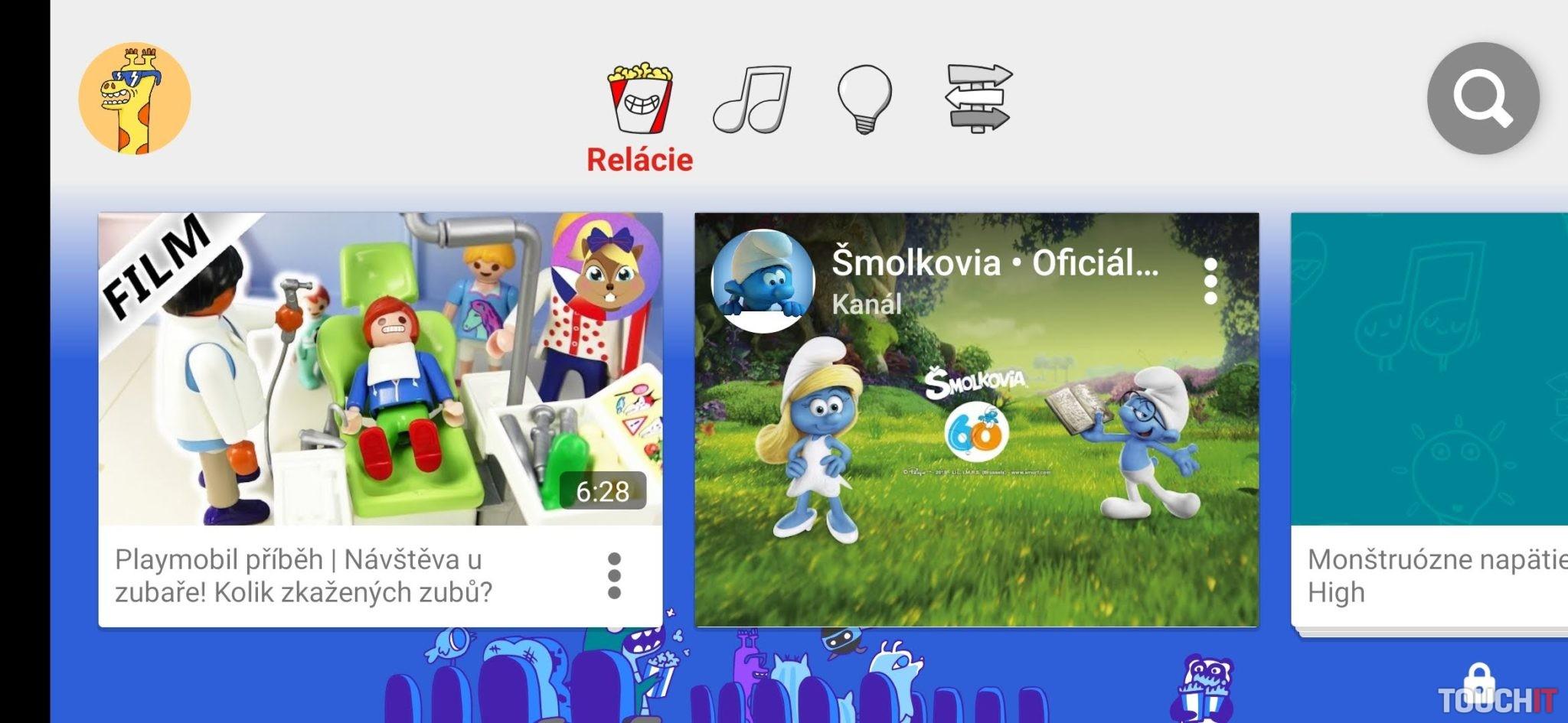 YouTube Kids  Detský YouTube je už dostupný aj na Slovensku  aa40c68997a