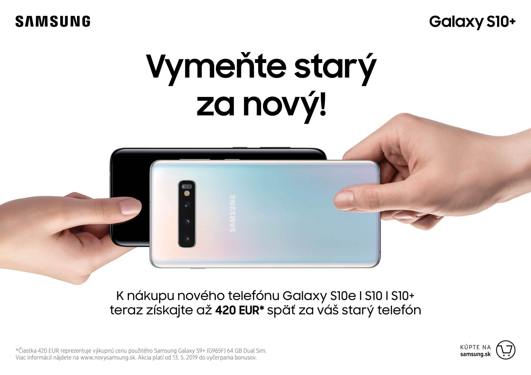 eec82f27c9 Samsung pri nákupe nových telefónov vykupuje nielen staršie Galaxy ...