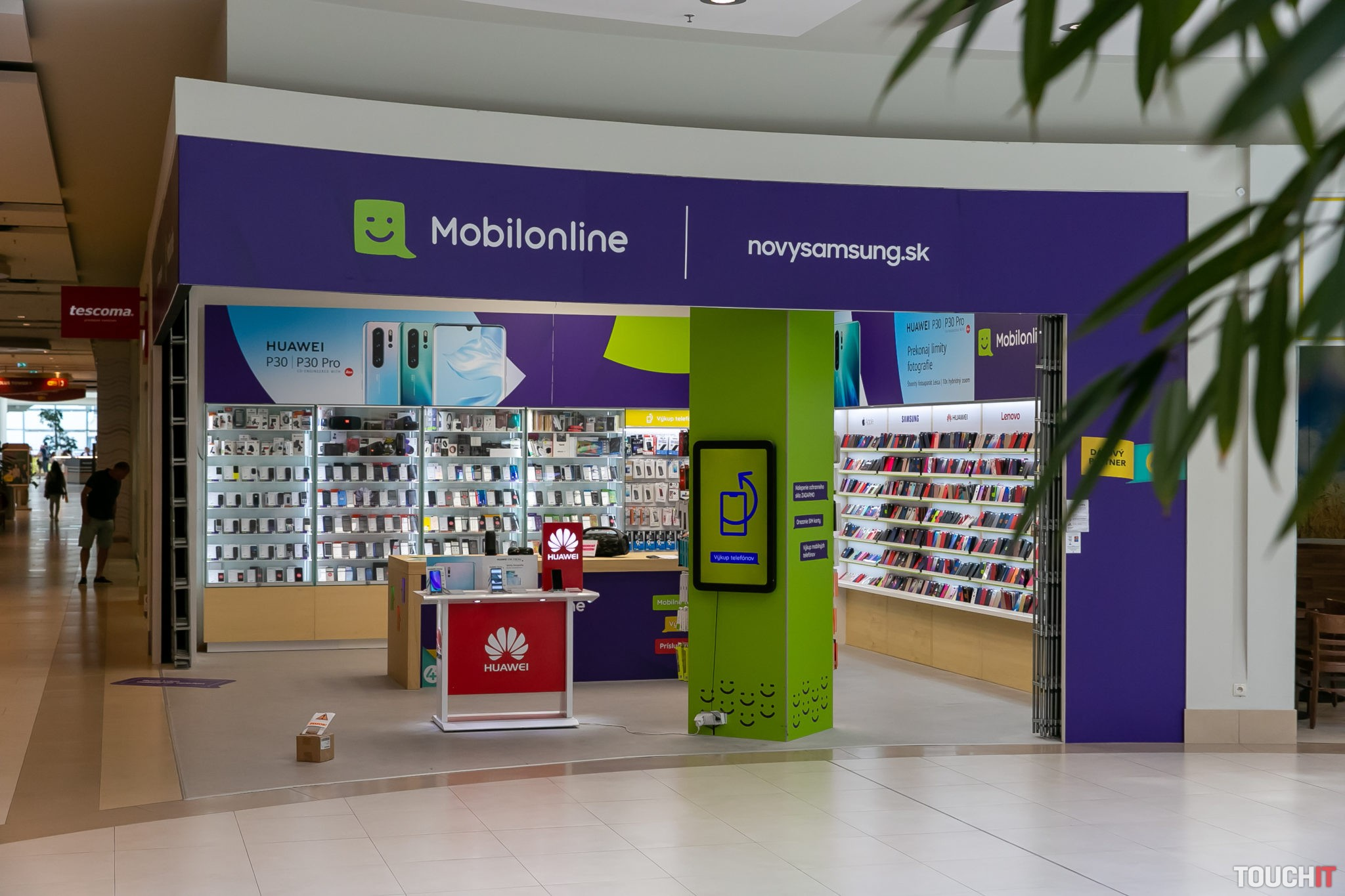 Výkupné miesto, ktoré sme navštívili v obchodnom centre Polus v Bratislave