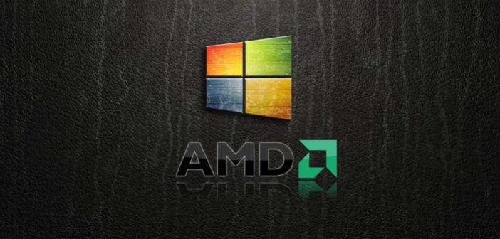 Windows 10 + AMD = 15 % výkonu navyše