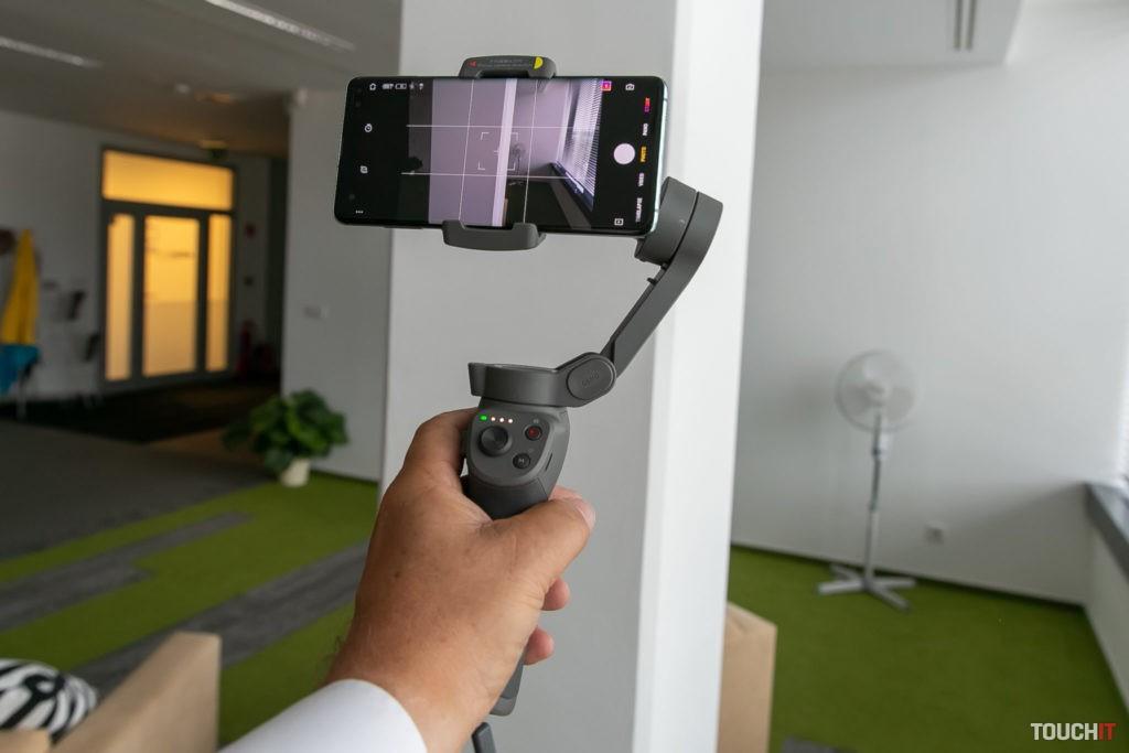 DJI Osmo Mobile 3 ako výhodná možnosť na stabilizáciu videa pri použití smartfónu