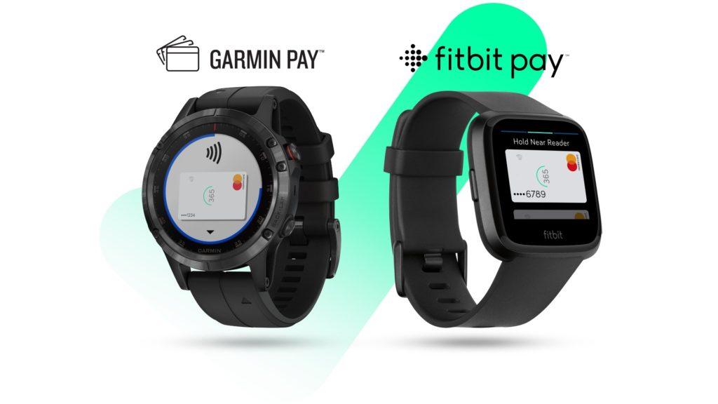 Fitbit a Garmin Pay
