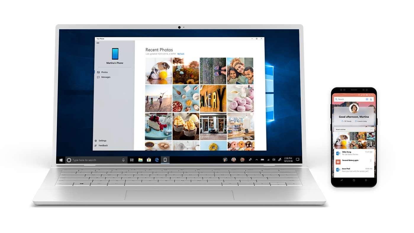 Microsoft Windows 10 a prepojenie s telefónom