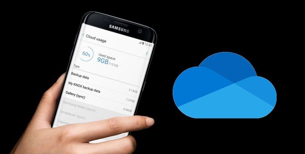 Samsung Cloud a OneDrive