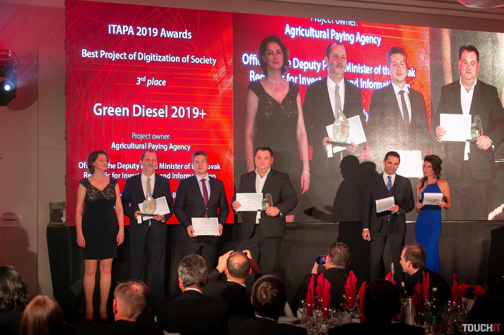 Cena ITAPA 2019