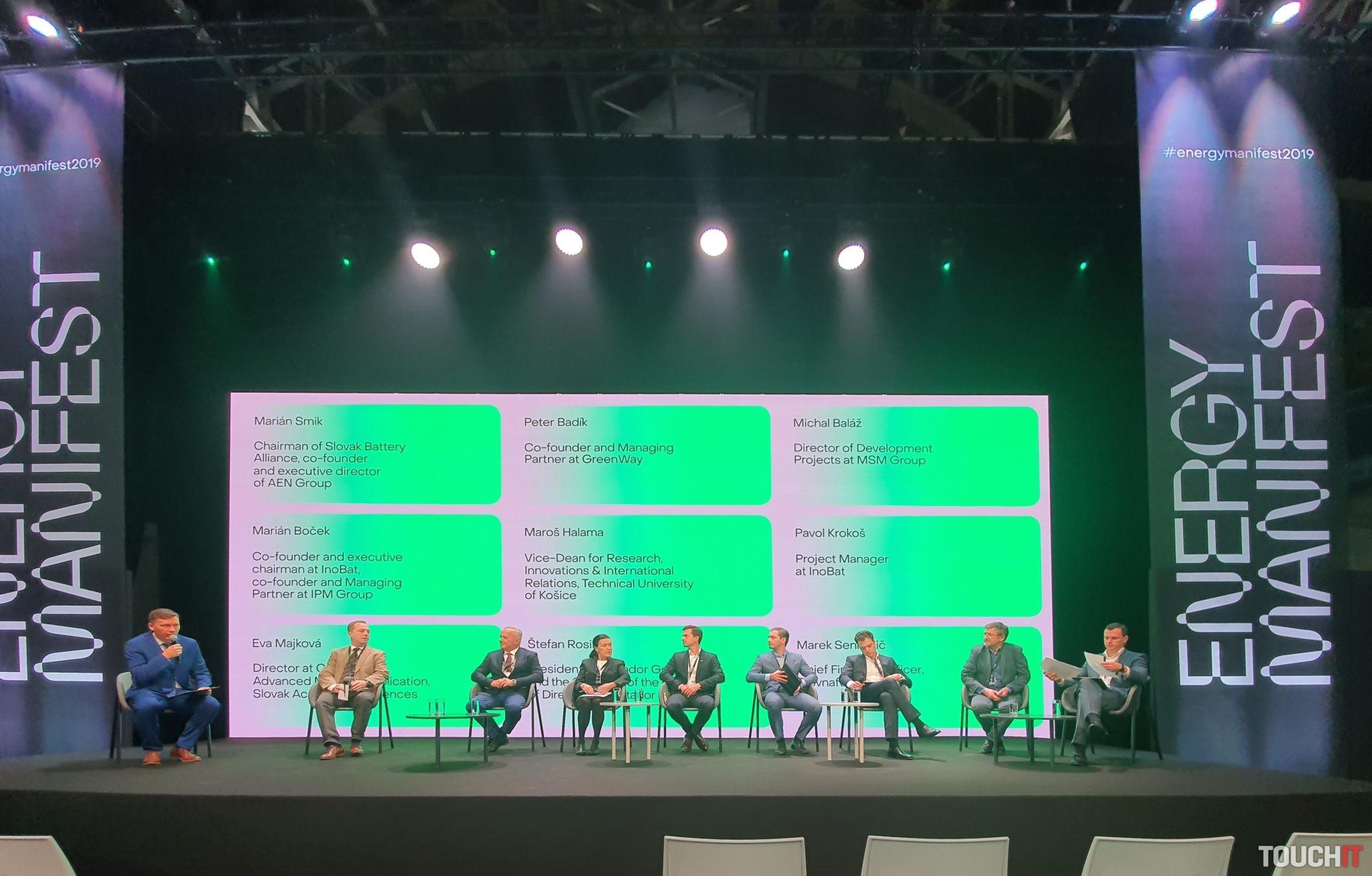 Na diskusii počas Energy Manifest sa zúčastnil aj zástupca GreenWay