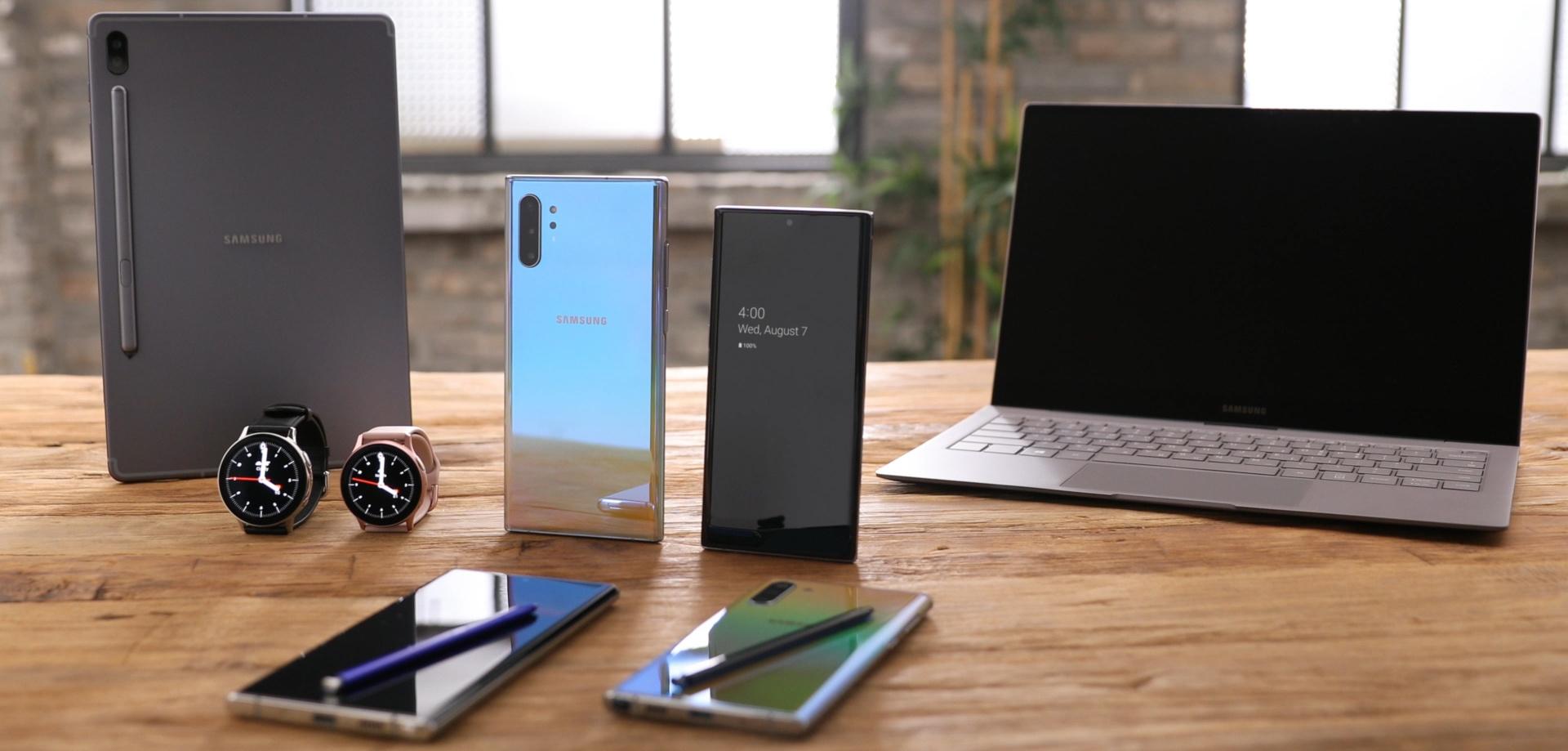 Galaxy Note10 ekosystém
