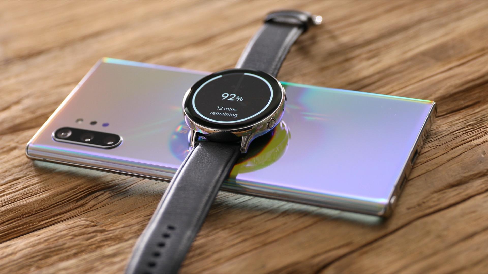 Note10 a inteligentné hodinky