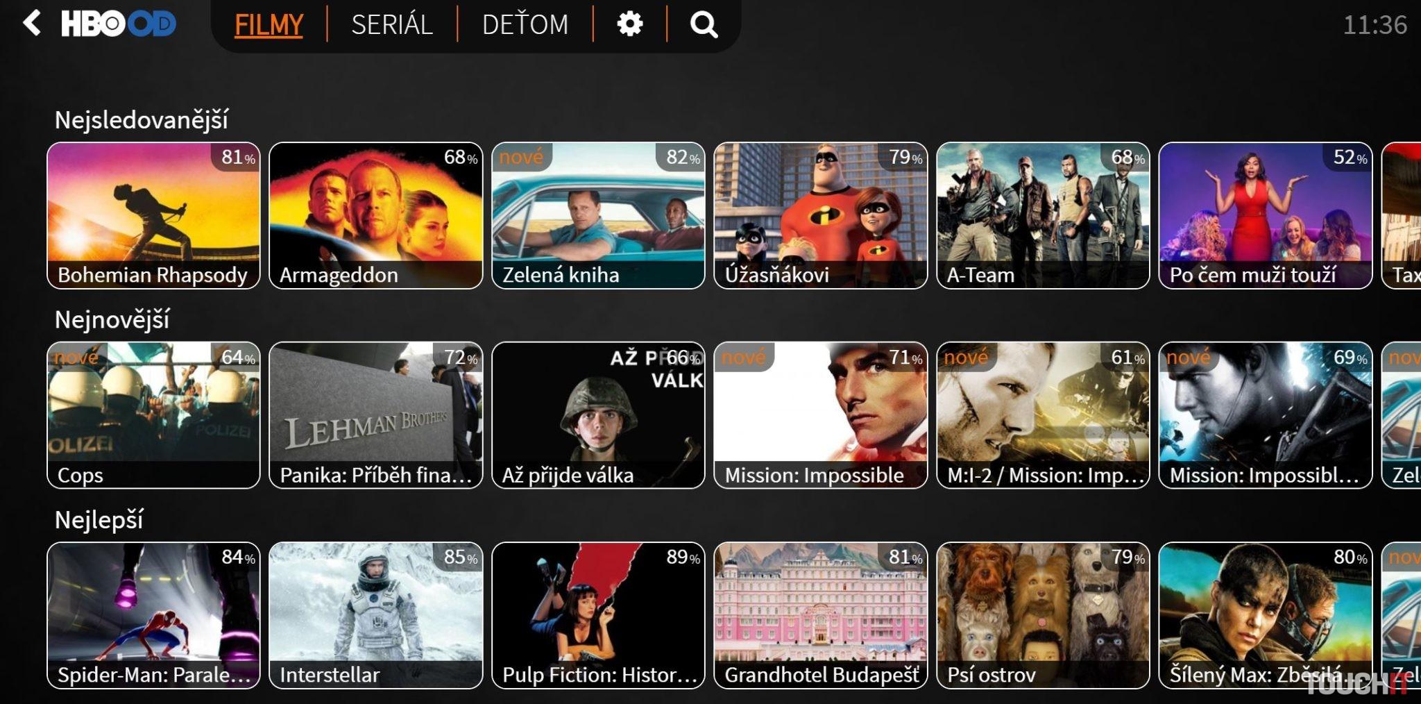 Lepšia.TV ponúka videotéku HBO OD