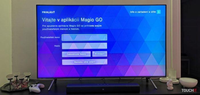 Magio GO prichádza na inteligentné televízory: Stiahnite si aplikáciu pre modely značky Samsung