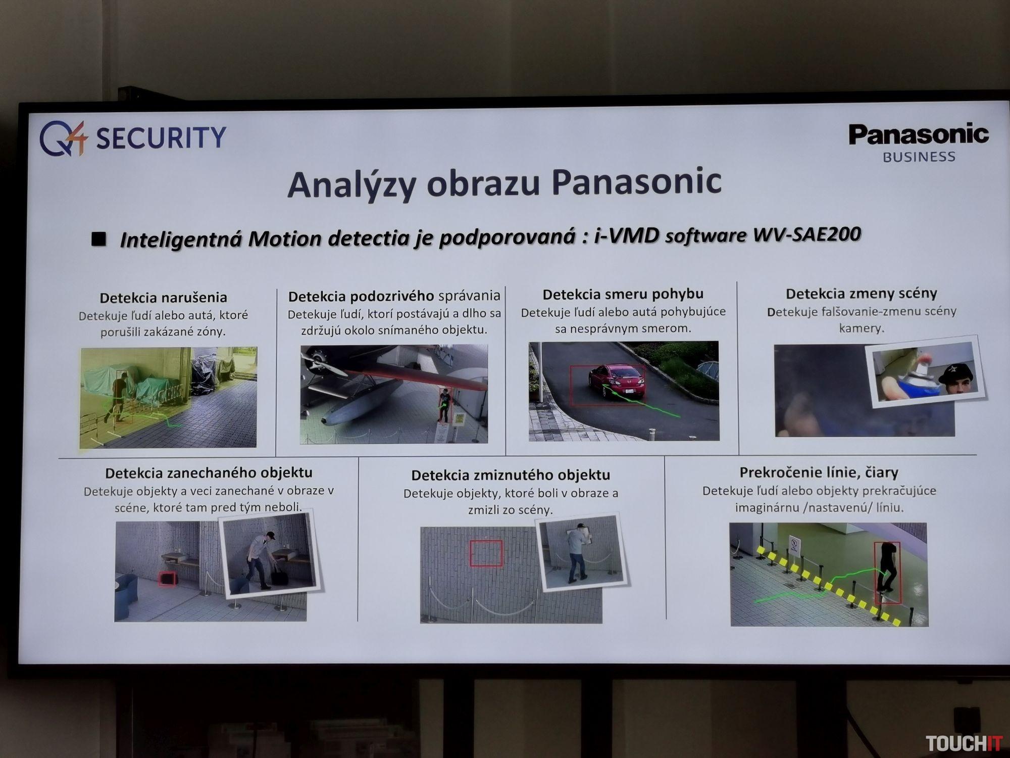 Panasonic CCTV kamery