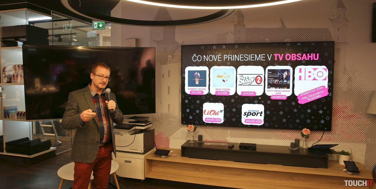 Telekom rozširuje ponuku TV kanálov pre Magio TV