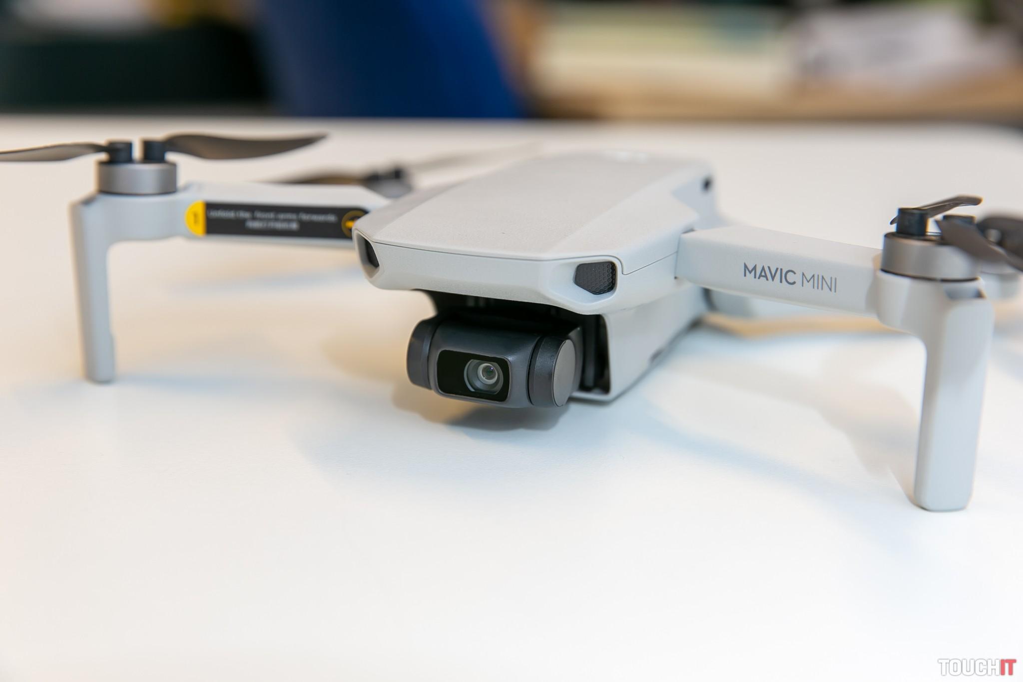 Kamera DJI Mavic Mini má rozlíšenie 2,7K, fotky majú rozlíšenie 12 MPx