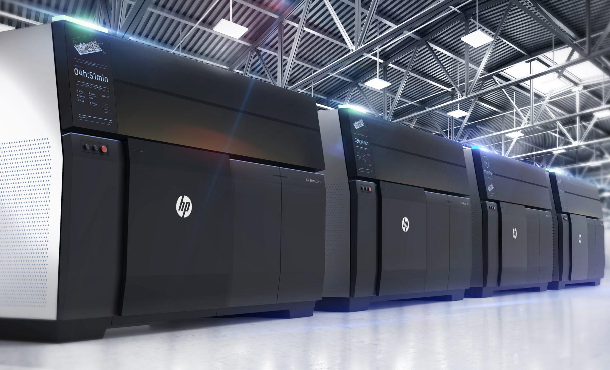 HP Metal 3D tlač