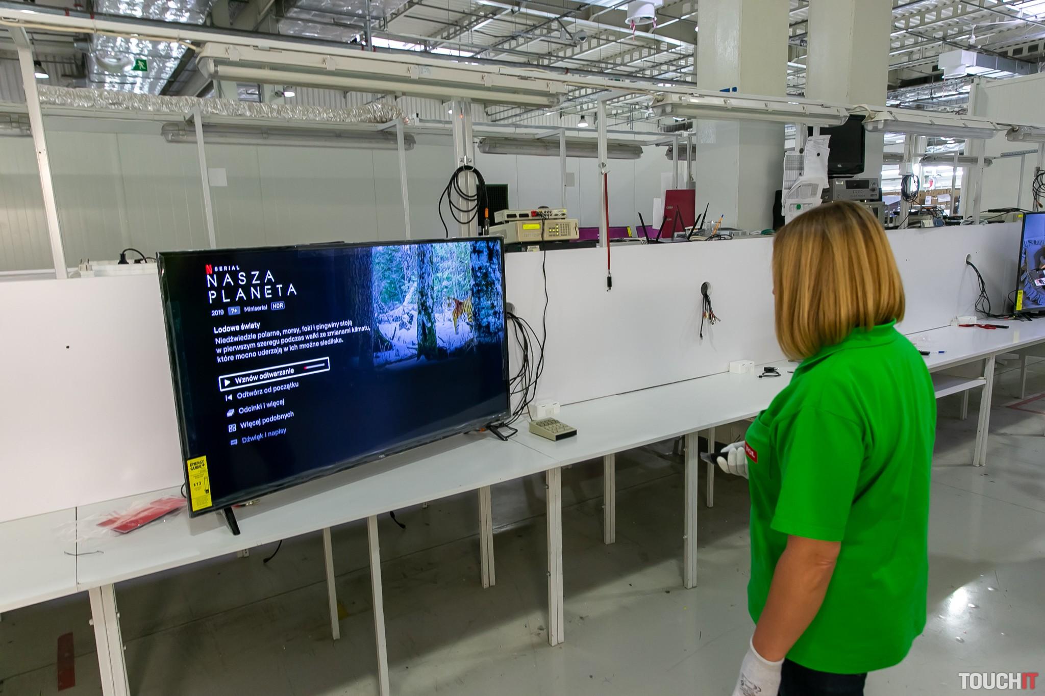 Kontrola televízora po jeho rozbalení, nainštalovaní a spustení
