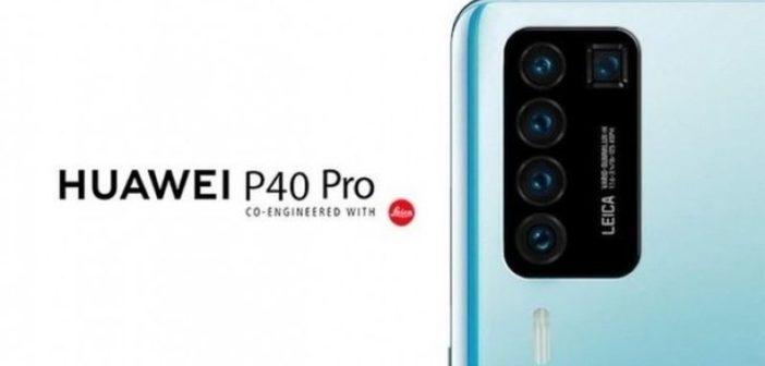 Huawei P40 Pro zadný fotoaparát