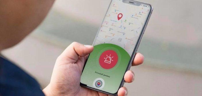 Mobilná aplikácia polície SR