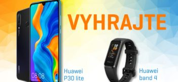 Vyhraj Huawei P30 lite a náramok Huawei Band 4