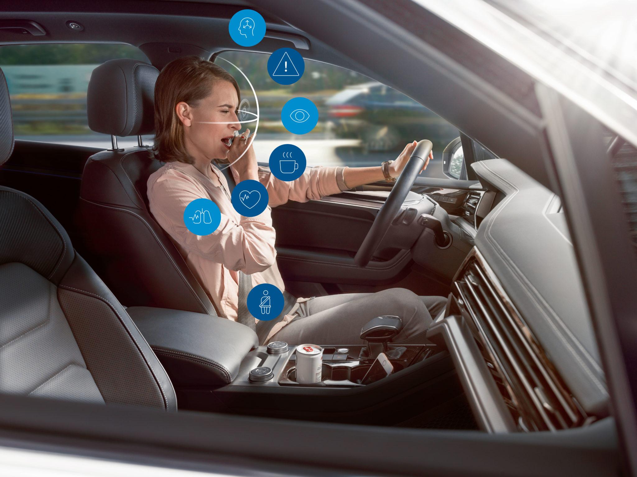 Bosch Sledovanie Stavu vodiča