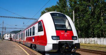 Nová séria DMJ 861 na Zvolensku je prvou, ktorú ZSSK vysúťažilo po roku 2016 a časť dodávky už je v prevádzke