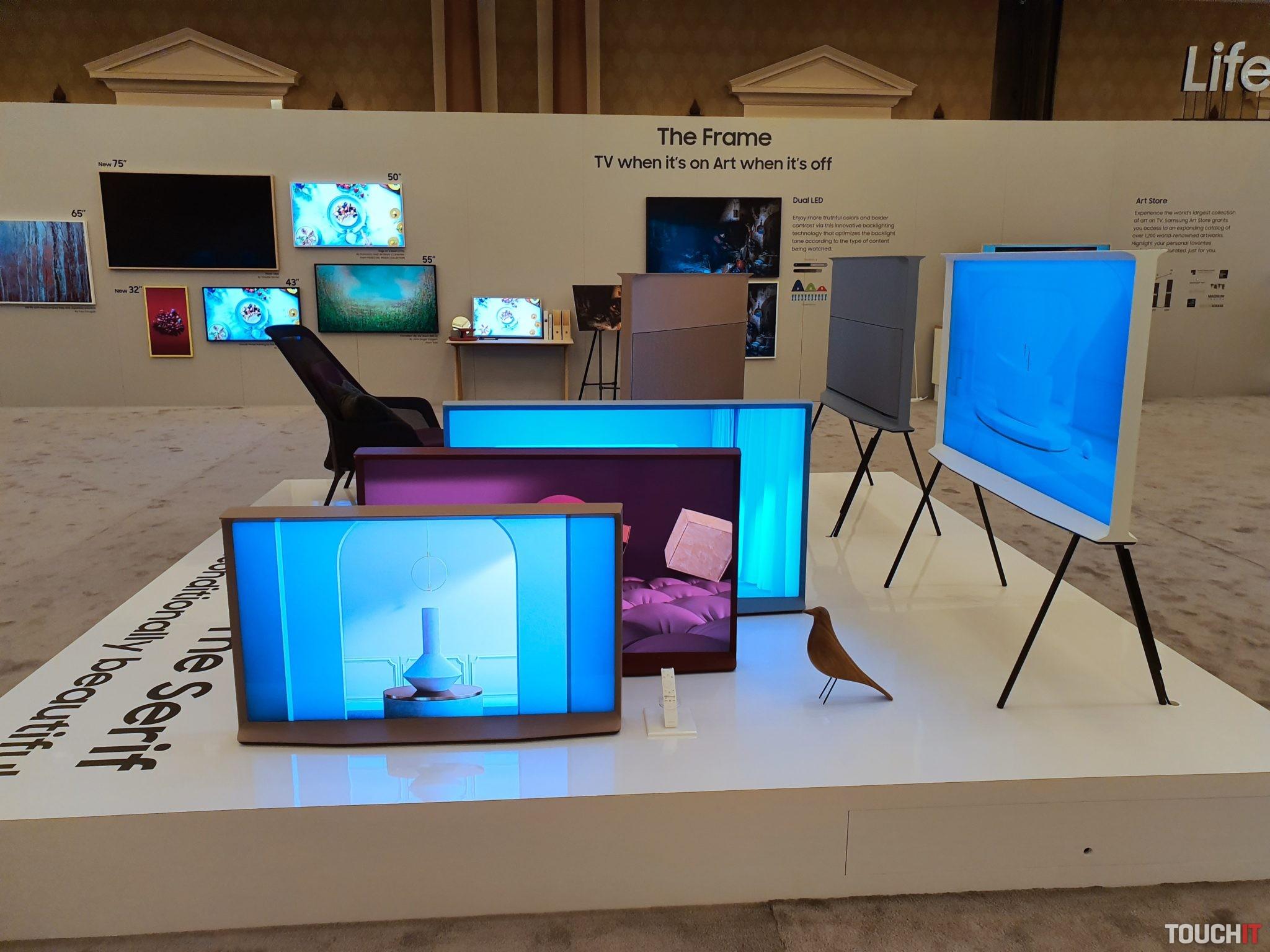 Samsung The Serif televízor