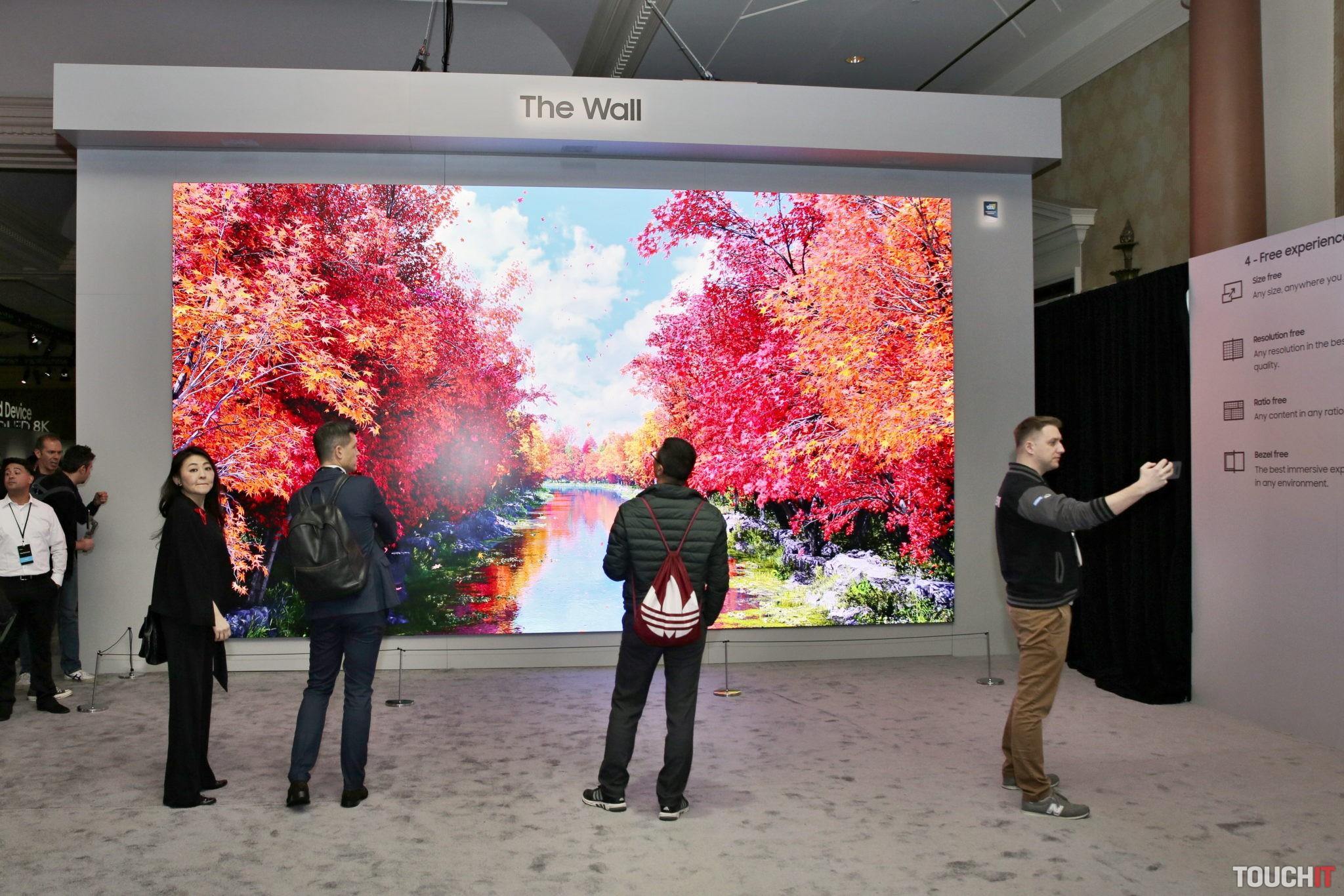 Samsung The Wall TV s obrovskou uhlopriečkou