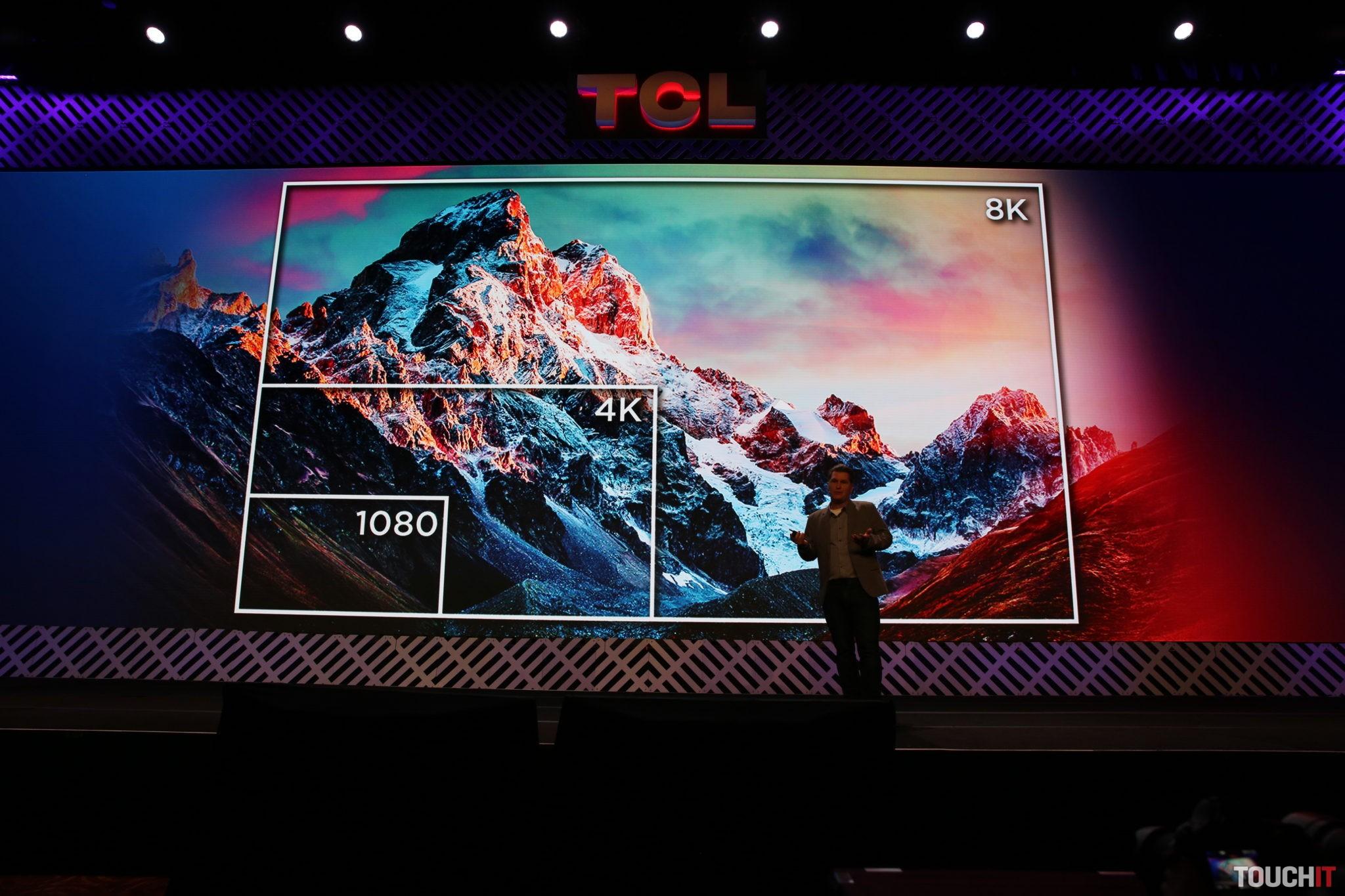 Nový televízor má samozrejme 8K rozlíšenie