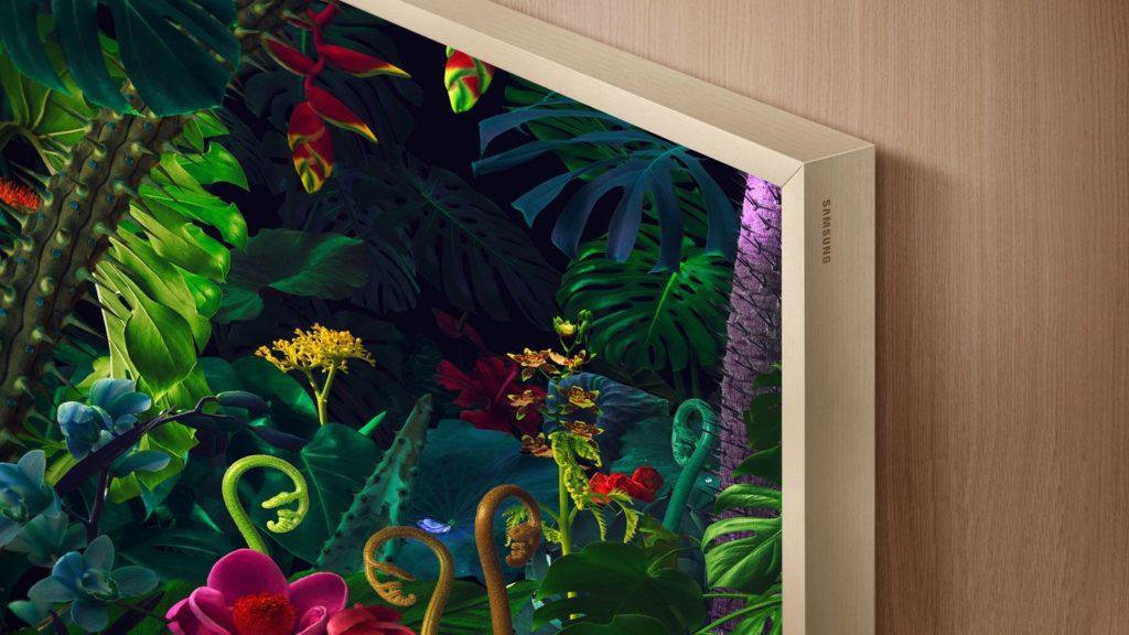 Rám televízora si môžete presne prispôsobiť obývačke