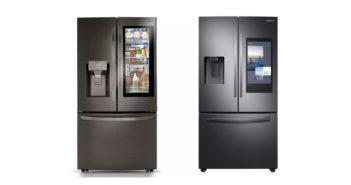 Chladničky Samsung a LG na CES 2020
