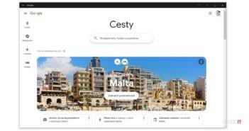Google Travel PWA aplikácia