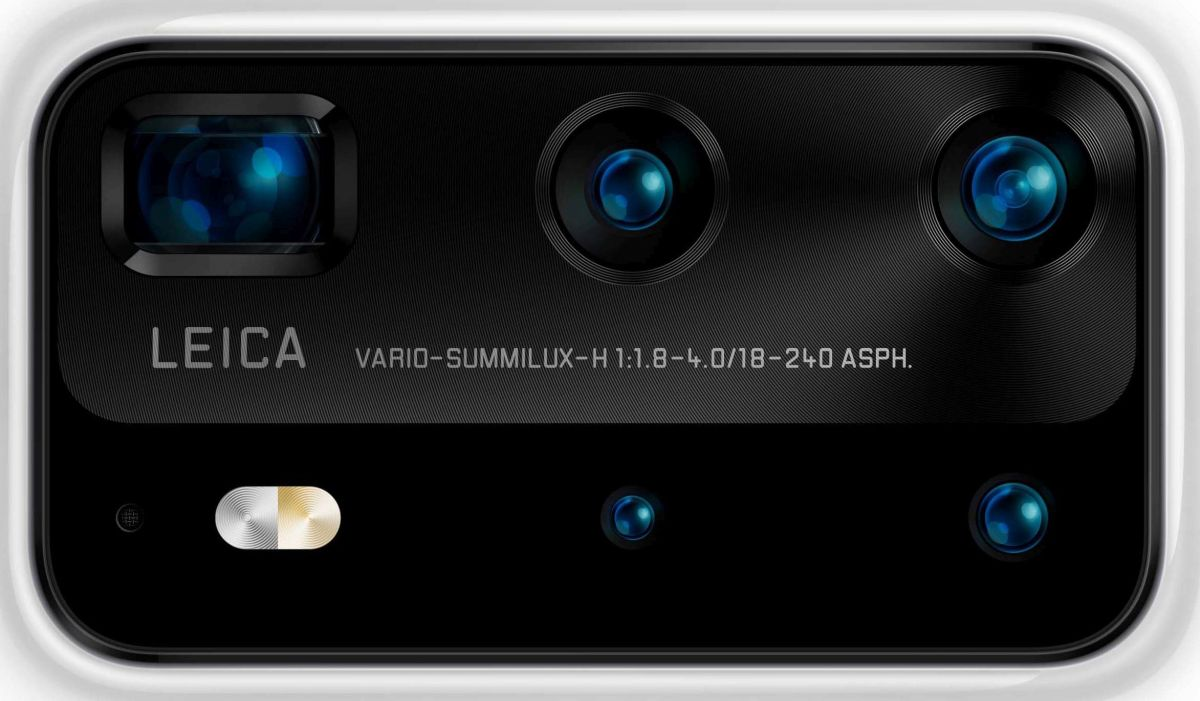 Zadný fotoaparát v Huawei P40 Pro