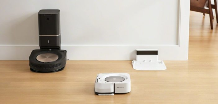 iRobot Roomba s9+ a iRobot Braava Jet m6