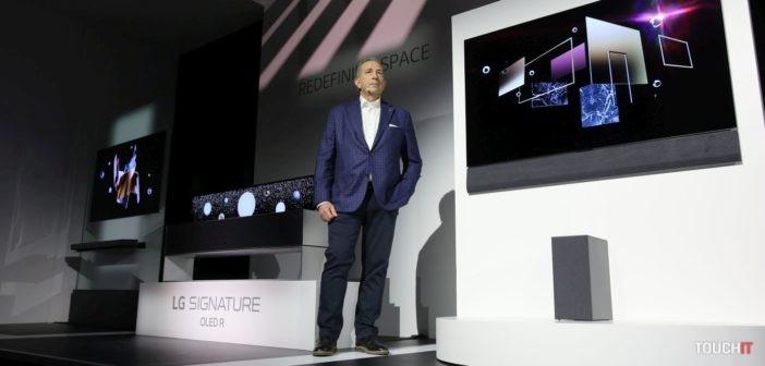 LG televízory na CES 2020