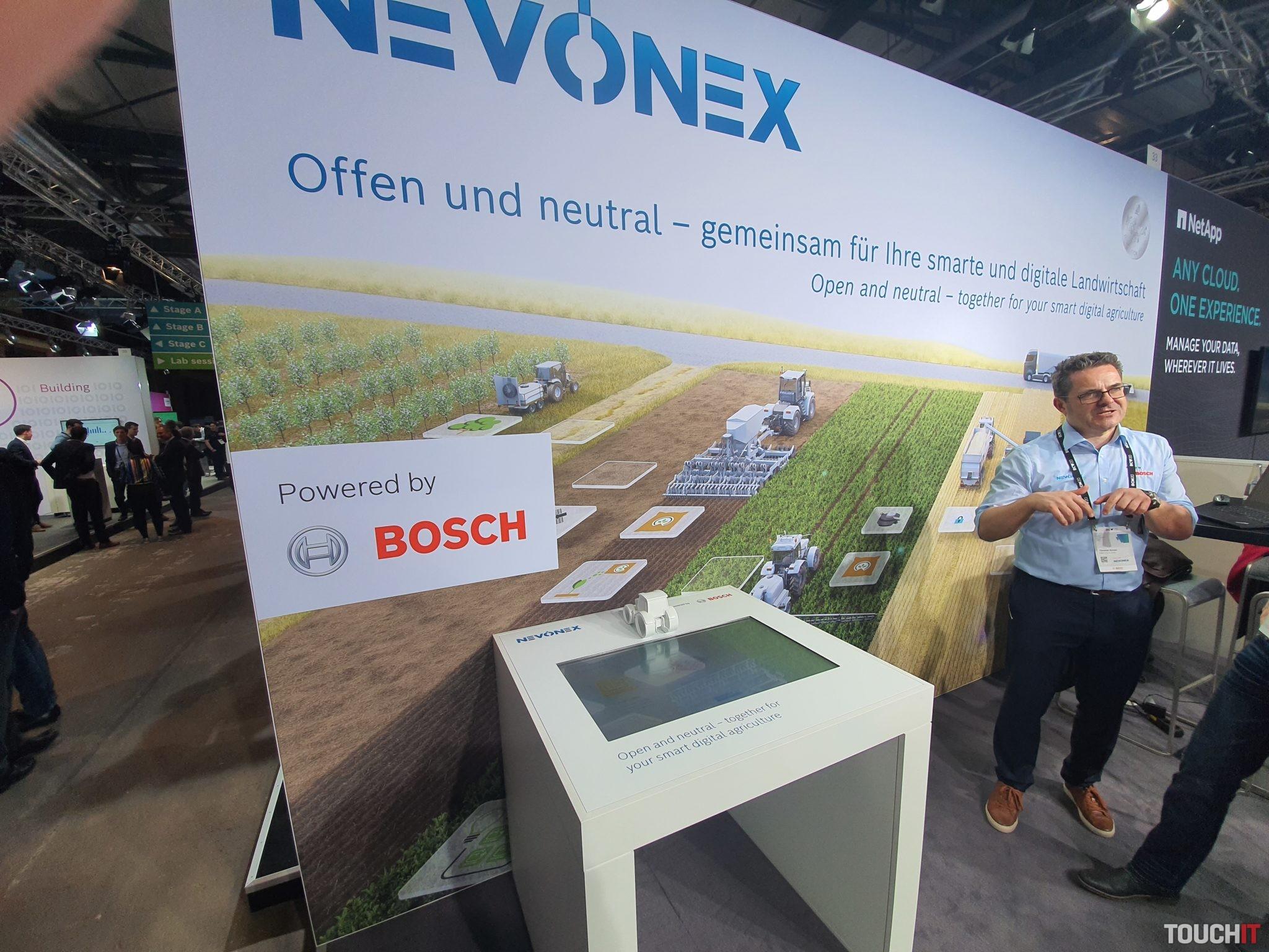 Nevonex rieši problematiku prepojeného poľnohospodárstva