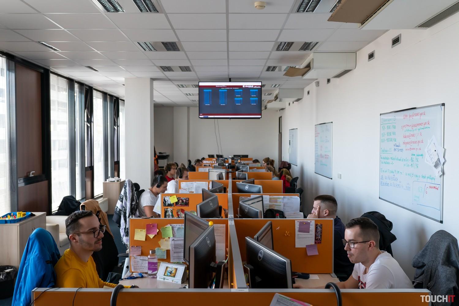 Národná agentúra NASES, kde sa spracovávajú služby štátu