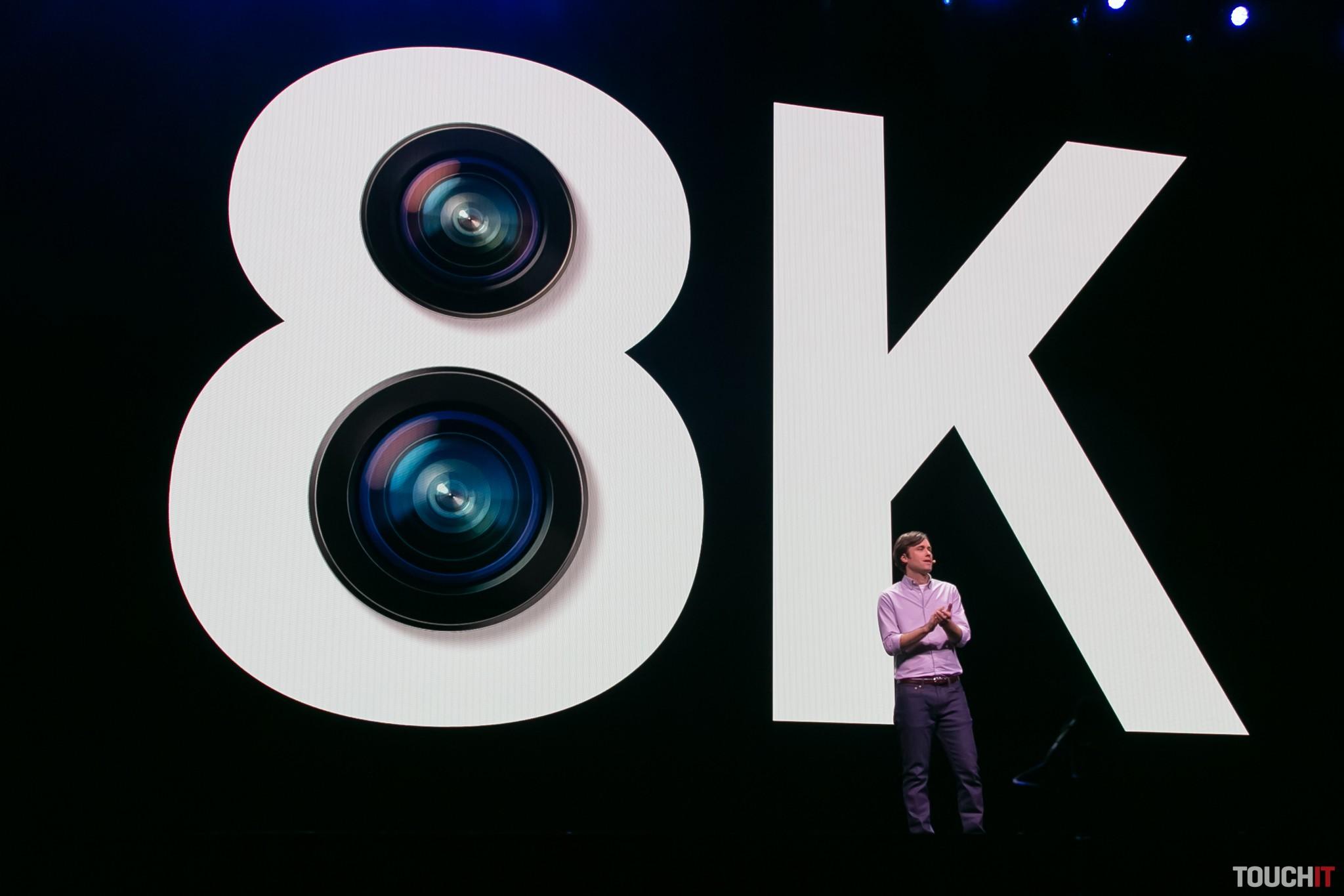 S rodinou Galaxy S20 môžete nakrúcať so zadnou kamerou 8K video