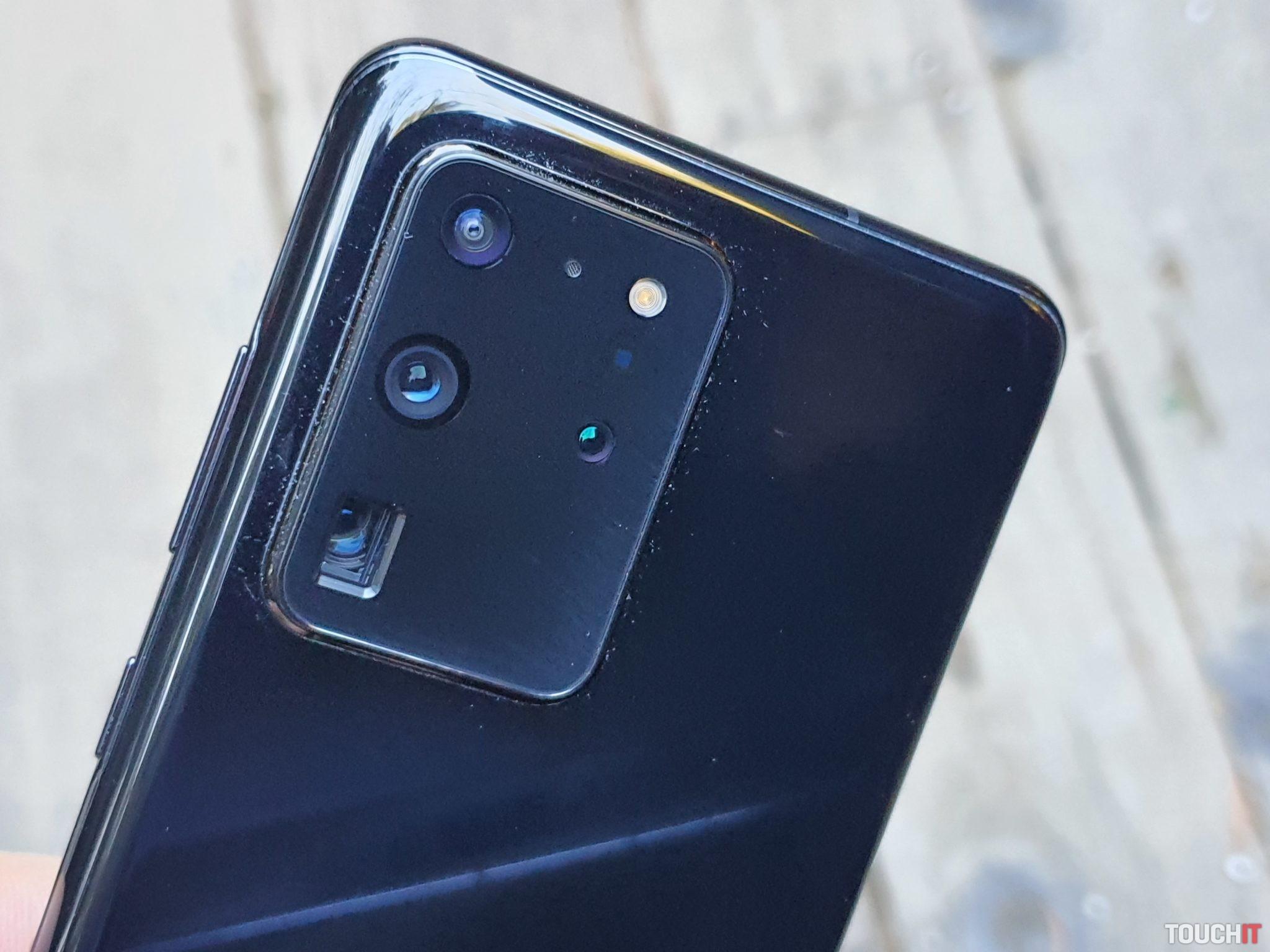 Fotoaparát na S20 Ultra 5G so 100-násobným zoomom