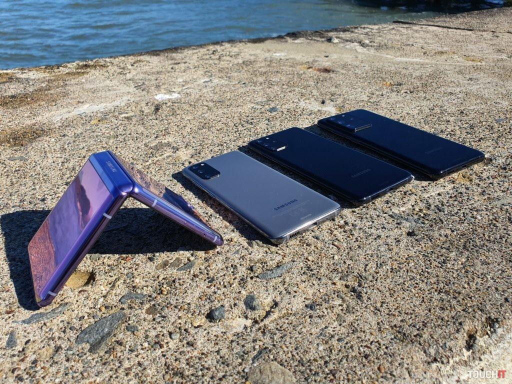 Všetky predstavené telefóny na Galaxy Unpacked 2020
