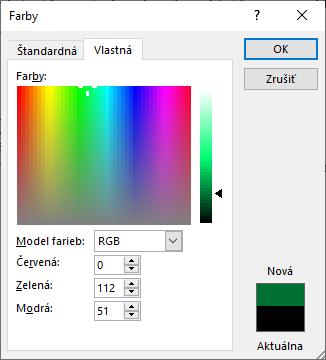 office color picker