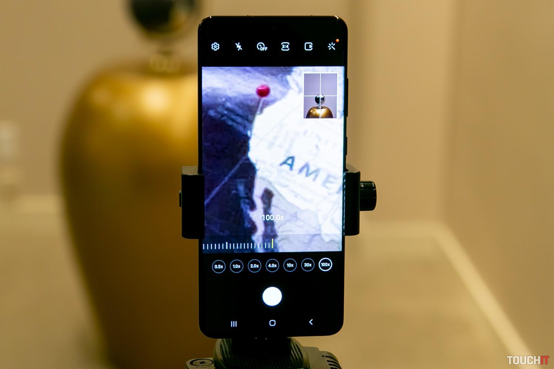 100-násobné priblíženie (S20 Ultra 5G)
