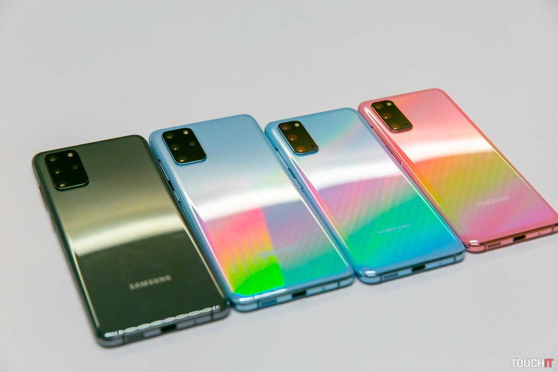 Rôzne farebné vyhotovenia S20+ a S20