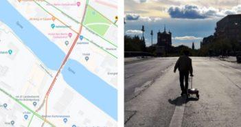 Umelec oklamal Google Mapy