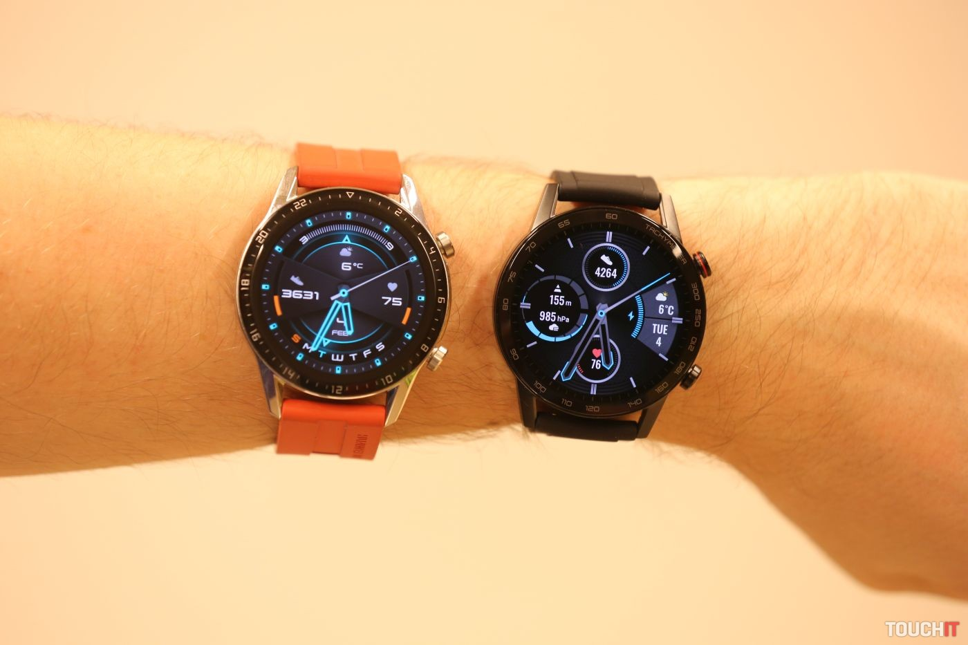 Honor MagicWatch 2 a Huawei Watch GT 2