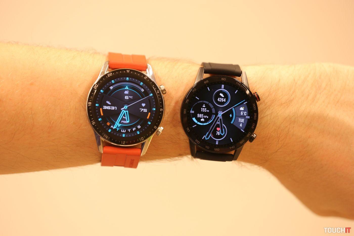 Honor MagicWatch 2 a Huawei Watch GT 2
