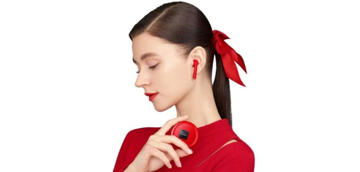 Huawei FreeBuds 3 červené