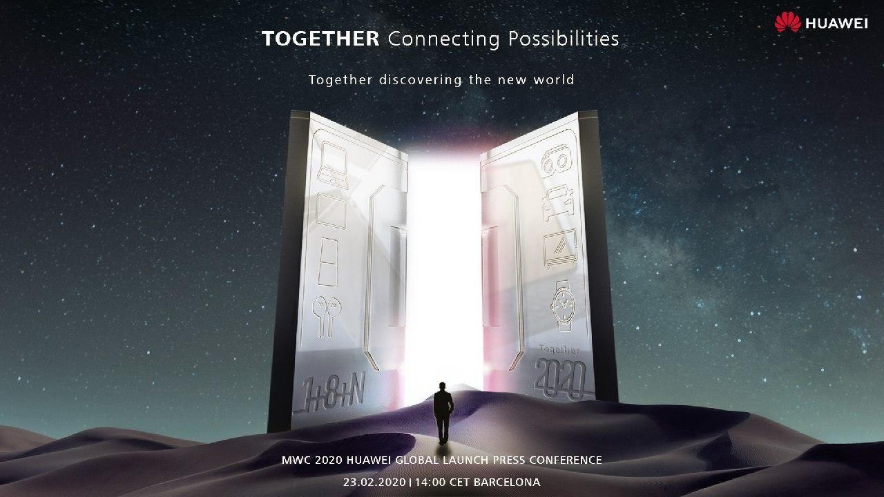 Huawei na MWC 2020
