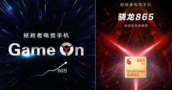 Lenovo Legion smartfón